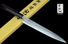 GOUKEN White Carbon JAPANESE Yanagi Kasumi Sushi Chefs Knife Slicer 24cm or 27cm