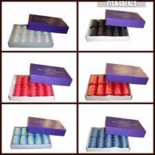10 x 1000 Yd (environ 914.40 m) (24 couleurs) 120 S Polyester Filé Bobine/Bobine de couture/machine Thread