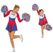 W4264 Wilbers Damen Kinder Cheerleader Kleid Cheer Leader Gr. 128 cm bis  Gr. 48