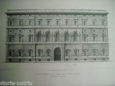 ROMA_ARCHITETTURA_PALAZZO MASSIMO_TERME DIOCLEZIANE_ARCHITETTO PISTRUCCI_'800
