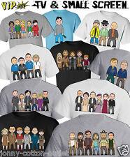 T-shirt Homme vipwees TV & petit écran inspiré caricatures de choisir votre design