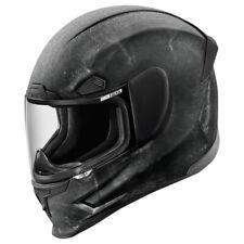 ICON AIRFRAME PRO CONSTRUCT Integralhelm Motorrad Sport Verbundfaser - schwarz