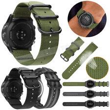 Soft Nylon Watch Band Sport Strap For Garmin Vivoactive 3 / Forerunner 645 Music