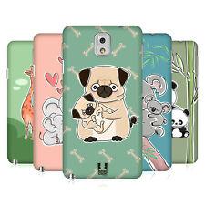 Animale Design HEAD CASE CON prole HARD BACK CASE per Samsung Telefoni 2