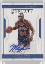 2016 Panini National Treasures NBA Greats Signatures #11 Mark Aguirre Auto Card
