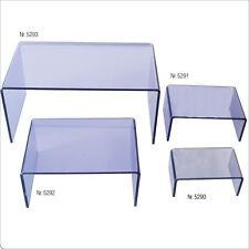 Safe Präsentationsbrücken volltransparent Acrylglas (5290,5291,5292,5293)