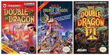 RGC Huge Poster - Double Dragon I II III Posters Original Nintendo NES - DDNSET1