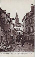 France Caudebec-en-Caux - La Rue des Belles-Femmes La Marche old unused postcard