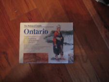 Nat Geographic Supplement June 1996 Ontario Canada Map