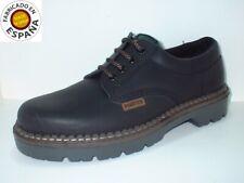 Zapato cordón piel color negro y marrón  tallas 39-46