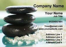 Beauty Spa Massage Salon trattamento personalizzato business cards
