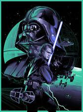 Hayden Christensen Anakin Vader Star Wars Prequels Interpretive Fine Art Print
