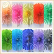 Tissue Paper Fans Pom Poms Wedding Party Baby Lantern Home Room Decor AU Stock