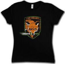 FOX HOUND GROUP LOGO DAMEN GIRLIE SHIRT - Metal Game Gear MGS Snake Eater Solid