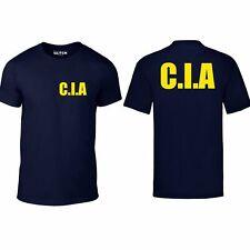 CIA T Shirt - Funny t shirt criminal retro FBI feds USA fancy dress drugs cool