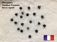 Mini bouton poussoir interrupteur CI de 6x6x6 mm neufs. Lot au choix.