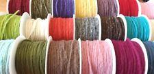 dünne Wollschnur - 4 mm dick * Filzkordel * Filzschnur * Wolle * Wollkordel *