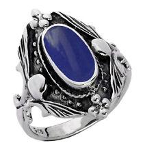 925 ECHT SILBER ***  Lapis Lazuli Ring, Größenauswahl