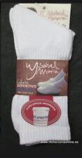 Calcetín deportivo ISABEL MORA, blanco, unisex, no aprieta