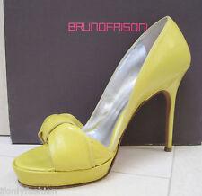 BRUNO FRISONI Platform Bow Sandals Stiletto Shoes 39