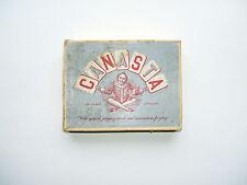VINTAGE giochi di carte e Set: CANASTA; Pit; cartes Ivoire; BEZIQUE ecc.