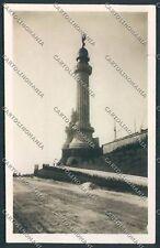Trieste Faro Foto cartolina C2889 SZG