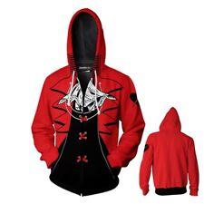 Anime Printed Ladies zipper Sweatshirts Persona 5 casual Hoodies Jackets coat