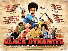 65174 BLACK DYNAMITE Blaxploitation Shaft Super Fly Wall Print Poster Affiche