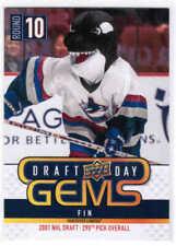 18/19 2018 UD UPPER DECK NHL DRAFT DAY GEMS CARDS (GEM00-GEM12) U-Pick From List