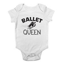 Ballet Queen Girls Baby Grow Vest Bodysuit