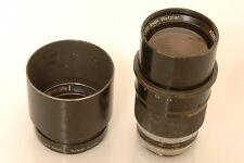 LEICA M 20CM 200MM 4.5 TELYT '1956' VISOFLEX I 'PLOOT' W/ HOOD.