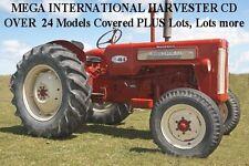 INTERNATIONAL HARVERSTER CD. 24 +  tractors covered