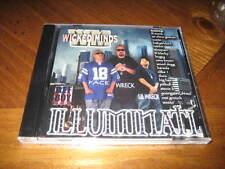 Chicano Rap CD Wicked Minds - Illuminati - Wreck FACE Chino Grande Ese Grouch