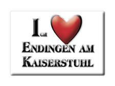 DEUTSCHLAND SOUVENIR - BADEN WÜRTTEMBERG MAGNET ENDINGEN AM KAISERSTUHL (EMMENDI