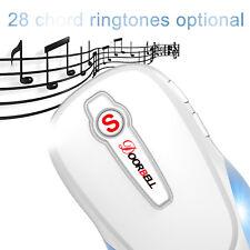 28 Unique Musical Ringtones Waterproof 300m Operating Range Wireless Door Bell