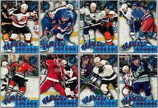 1995-96 STADIUM CLUB FEARLESS HOCKEY INSERT CARDS - PICK SINGLES - FINISH SET
