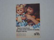 advertising Pubblicità 1977 BAMBOLA EFFE FRANCA VALERIA