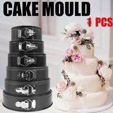 Springform Pan Set Leakproof Non-stick Cake Pan Bakeware Removable Bottom 6 size