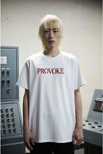 51PERCENT PROVOKE Tee White T-Shirt Made in Korea Brand New