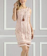 Suzanne Betro Champagne Lace Sheath Dress - NWT - sizes large & XL