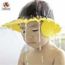 Children Waterproof Cap Safe Baby Shower Cap Kids Bath Visor Hat Adjustable Baby
