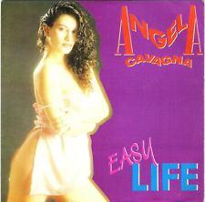 "ANGELA CAVAGNA-45 GIRI PROMO SPAGNA""EASY LIFE""L.BERTE'"