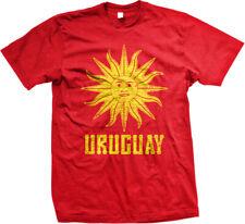 Uruguay Symbol Uruguayan Distressed Country Sun From Born URY UY Men's T-Shirt