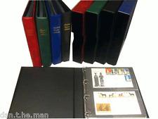 Kestrel Ersttagsbrief Album & 20 x 2 Pocket FDC Hüllen - optionales Schutzhülle