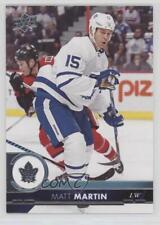 2017-18 Upper Deck #173 Matt Martin Toronto Maple Leafs Hockey Card