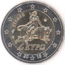 Griechenland alle 2 Euro Kursmünzen - alle Jahre wählen - Neu