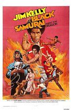 Black Samurai Movie POSTER (1977) Blaxploitation/Action