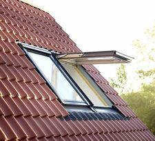 Klapp-Schwing-Fenster VELUX GPL Thermo  + Eindeckrahmen + Dachfenster Rollo