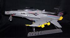 Acrylic display stand for GI Joe X-30 Conquest & Cobra Python Patrol landing