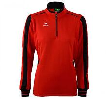 ERIMA ALPHA Damen LINE Sweater Sweatshirt Pullover Trainings Top, Gr. 44, rot